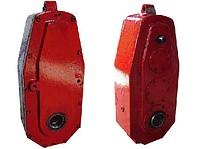 Редукторы вертикальные крановые серии В и ВФ - с фланцем для двигателя